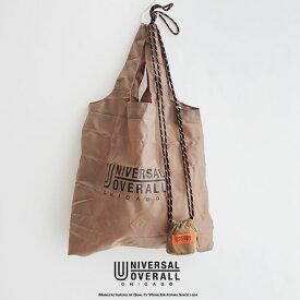 UNIVERSAL OVERALL ユニバーサルオーバーオール へそ巾着ポーチ SUVO-005【RCP】レインバッグ エコバッグ