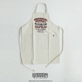 UNIVERSAL OVERALL ユニバーサルオーバーオール エプロン UOSV-19015C【RCP】