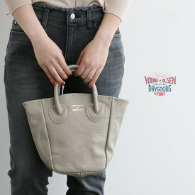 【15%★OFF】【2020SS】Young&OLSEN ヤングアンドオルセン PETITE LEATHER TOTE レザートート YO2001-GD004【RCP】