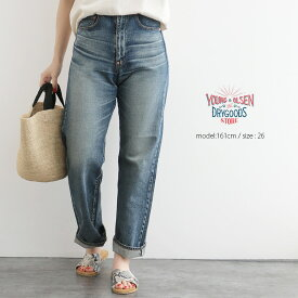 【50%★OFF】【2020SS】Young&OLSEN ヤングアンドオルセン 20'S WIDE JEANS ワイドジーンズ YO2001-PT001【RCP】