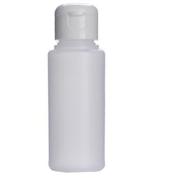 フロストプラボトル・ワンタッチキャップ[60ml]/1個【化粧水 容器 白色 ホワイト 詰め替え容器 アトマイザー 手作りコスメ 化粧品 ローション】