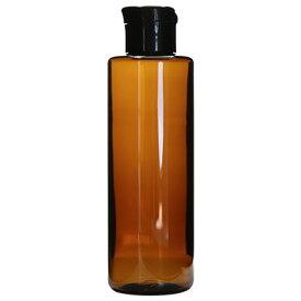 ecoペットボトル200ml+ワンタッチキャップ/1個 アルコール用化粧水 ローション トナー 容器 茶色 詰め替え アトマイザー 手作り コスメ 化粧品