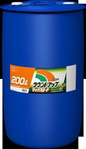 【送料無料】【メーカー直送】ラウンドアップ マックスロード 200L