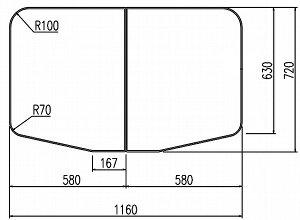 LIXIL(リクシル) INAX 保温風呂フタ・風呂ふたYFK-1275B(1)-D ・カラー ホワイト