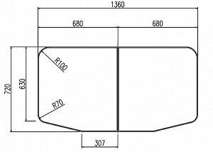 LIXIL(リクシル) INAX 保温風呂フタ・風呂ふたYFK-1475B(1)-D ・カラー ホワイト
