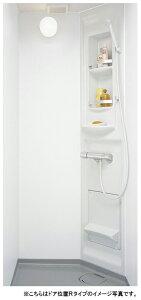 LIXIL リクシル シャワールーム●0808タイプ(浴室内寸法800×800mm)●ELタイプ●壁パネル・つや消しホワイト●ツーハンドル水栓SPB-0808LBEL-B●シャワーユニット●シャワーブース