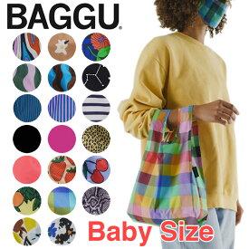 【最新柄入荷】BAGGU バグゥ バグー エコバッグ ベビー BABY ナイロン トートバッグ 折りたたみ コンパクト サブバッグ マイバッグ ショッピングバッグ レジカゴ おしゃれ ブランド バッグインバッグ