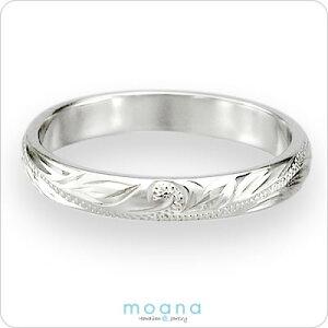 ハワイアンジュエリーリングホワイトゴールドハワイアンゴールドリングスクロール指輪ピンキーリングマリッジリング結婚指輪レディースメンズプレゼント名入れ刻印無料送料無料クリスマスギフト
