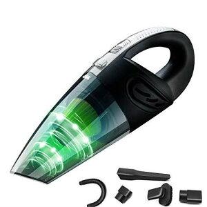 Magsbud ハンディクリーナー 掃除機 車用掃除機 USB 充電式掃除機 コードレスクリーナー 小型掃除機 乾湿両用クリーナー コードレス 家用 超強吸引力 乾湿両用 多機能 軽量 超強吸引力 8000PA吸