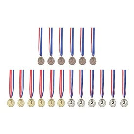 金メダル 銀メダル 銅メダル 金属 製 直径 50mm 18枚入り 表彰 スポーツ 会社 学校 運動会 幼稚園 ご褒美 優勝メダル 景品