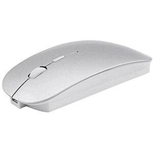 【SAMDVM】【Bluetooth & 2.4GHz】ワイヤレスマウス Bluetoothマウス 無線マウス コンパクト 充電式 薄型 トリプルモードのマウスBluetooth 5.0 2.4GHz 800/1200/1600DPI 3DPIモード高精度Mac/Windows/Surface/Microsoft Pro