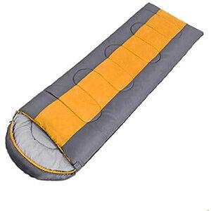 ALSKY寝袋封筒型, 軽量 コンパクト収納, 丸洗い可能, 春夏秋冬の使用可能