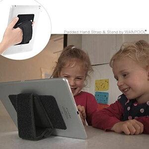WANPOOL携帯電話、タブレットPC、電子書籍リーダーの通用的な粘着マット付き 手持ちホルダー - iPhone 7 / 7 Plus - Samsung Galaxy S8 / Tab S3 - iPad Pro/mini 4 - Kindle Paperwhite/Voyageなどに対応できます