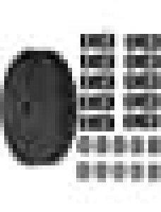 JETEDC(ジェットイデイシイ)スーツケースベルト 荷崩れ防止 ベルト10セット 25mm×8m ワンタッチ式ロックプラスチックロック10個入り 荷締めベルト 作業用ベルト 調整可能 (黒)