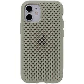 AndMesh iPhone 12/12 Pro ケース メッシュ 耐衝撃 [クレイグリーン] iPhone 12/12 Pro/6.1inch