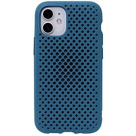 AndMesh iPhone 12 mini ケース メッシュ 耐衝撃 [コバルトブルー] iPhone 12 mini/5.4inch