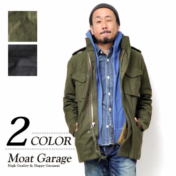 【5倍ポイント】M65 ジャケット メンズ | M-65 フィールドジャケット 大きいサイズ アウター ジャケット モッズコート ミリタリージャケット ブルゾン ライナー 暖かい フード カーキ オリーブ ブラック S M L XL 人気 おしゃれ かっこいい コットン 綿 無地