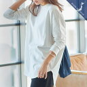 【MadeInJAPAN】選べるネックコットンTシャツ [C4455]【入荷済】 レディース トップス カットソー ロンT 綿100% 日本…