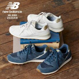 ≪WINTER SALE≫ [ NEWBALANCE ]ニューバランスWL996 2020AW [I2097]【入荷レディース カジュアル シューズ スニーカー スエード メッシュ 靴