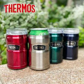 [ THERMOS ] サーモス 真空断熱缶ホルダー350ml [J952] 入缶ホルダー タンブラー 保冷 缶ビール アウトドア 長持ち キャンプ バーベキュー 水筒 BBQ ピクニック 【送料無料】