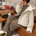 コート レディース フード付き中綿ショートコート [K809]【入荷済】 レディース アウター コート 中綿コート ダウン …