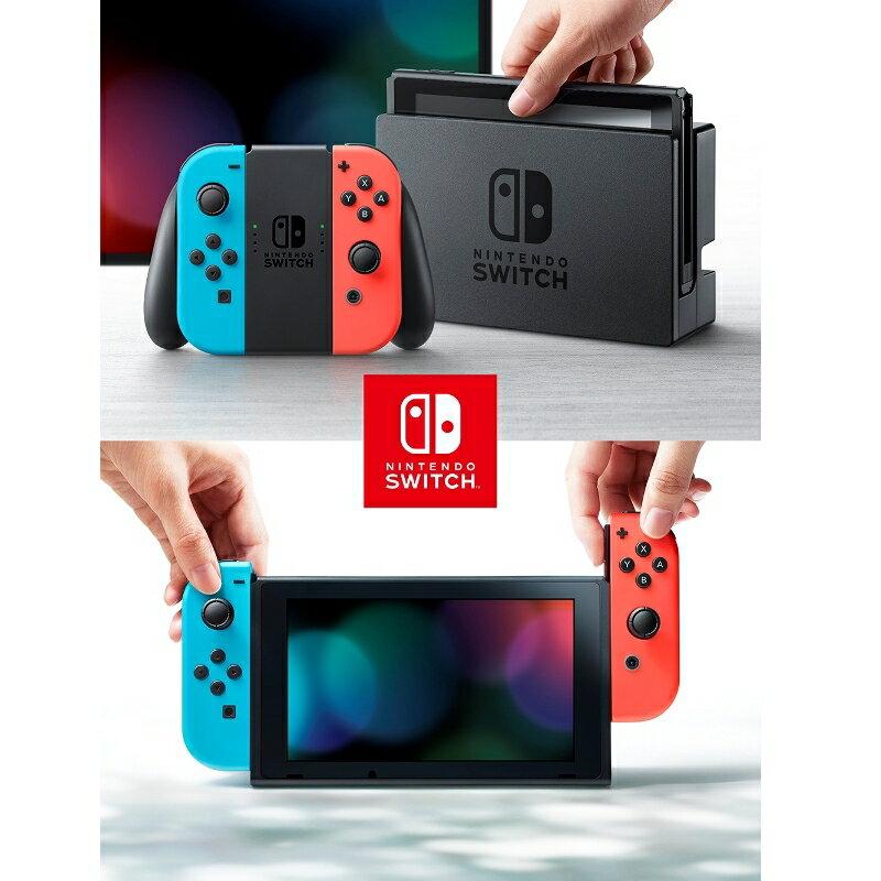 Nintendo Switch Joy-Con(L) ネオンブルー/(R) ネオンレッド 任天堂 4902370535716 ショップオープン記念クーポン最大2,000円OFF使えます!