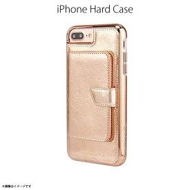 iPhone 8Plus iPhone 7Plus iPhone 6sPlus iPhone 6Plus ハードケース CM036204【5777】Case-Mate Comapct Mirror Case カード収納付き 鏡 ミラー オープンフェイス ローズゴールドがうがうインターナショナル【メール便送料無料】
