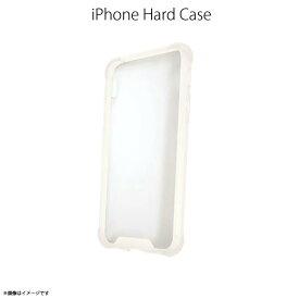 iPhone X ハードケース TBC-04【8615】衝撃吸収 タフネスバンパーケース クリアケース フレーム ホワイトハセ・プロ