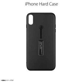 iPhone X ハードケース SHC-01【8691】 スリムホルダーケース スタンド機能 薄い メタリック ブラックハセ・プロ