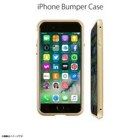 iPhone SE 第2世代 2020 iPhone 8 バンパー GZ9418i7【4180】 GAZE Razor Fitt アルミニウムバンパー フレーム メタリック バックプレート付き ゴールド 取り付け簡単ロア・インターナショナル【メール便送料無料】