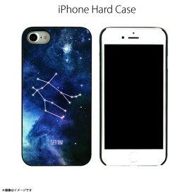 iPhone SE 第2世代 2020 iPhone 8 ハードケース DS9014i7【0144】 Dparks ブラックケース Twinkle Case ホログラム 宇宙 星座 ふたご座 Geminiロア・インターナショナル