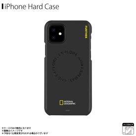 iPhone12 mini ケース ハードケース NG19616i12【6166】National Geographic ブランド Explore Further Edition Carved Stamp スリム 軽量 刻印 シンプルデザイン ブラックロア・インターナショナル