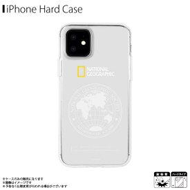 iPhone12 mini ケース クリアケース NG19618i12【6180】ハードケース National Geographic ブランド Global Seal JellHard Case ロゴ 地球儀 ロア・インターナショナル