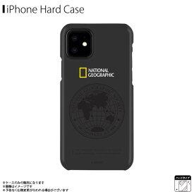 iPhone12 mini ケース ハードケース NG19619i12【6197】National Geographic ブランド Global Seal Slim Fit Case スリム 軽量 ロゴ 地球儀 ブラックロア・インターナショナル