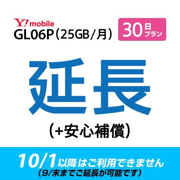 【GL06P_30日延長専用(+安心補償)】wifiレンタル 延長申込 専用ページ 国内wifi 30日プラン