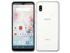 【新品・白ロム・本体】simロック解除済みdocomo Galaxy A20 SC-02M ホワイト スマートフォン 携帯電話 SC-02M  White sc02M