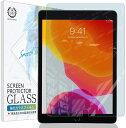 【スーパーSALE最大半額+先着15%OFFクーポン】iPad 10.2 フィルム ガラスフィルム 強化ガラス 保護フィルム ブルーライトカット 2019 第7世代 硬度9H 指紋防止【定形外】