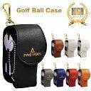 【送料無料】ゴルフボールケース ゴルフ ボールポーチ ベルト ボールケース ゴルフ レディース ボール2個 ティー グリーンフォーク 収納【3年保証】