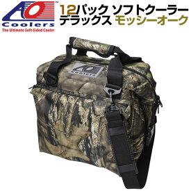 AO Coolers 12pack Deluxe Mossy Oak Cooler AOクーラーズ 12パック デラックス ソフトクーラー 保冷バッグ カモフラージュ柄 軽量 保冷 保温 アウトドア キャンプ モッシーオーク 並行輸入 送料無料