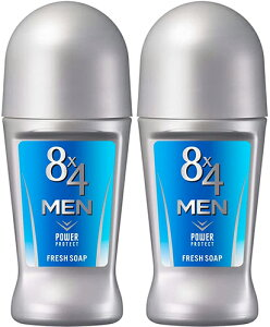 8×4 MEN ロールオン フレッシュソープ 60ml