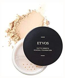 ETVOS(エトヴォス) マットスムースミネラルファンデーション SPF30/PA++ 4g (#50 オークル系の健康的な肌色)セミマット 高保湿パウダー【外装箱僅かな汚れ】