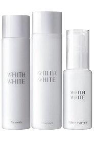 フィス white white 美白3ステップ 基礎セット(化粧水 & 美容液 & 乳液) 医薬部外品 美白 しみ くすみ 対策 プラセンタ +コラーゲン 配合でしっとり 保湿