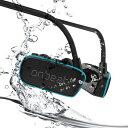 オンビートスイマー OB370SM 完全防水MP3プレーヤー内蔵ヘッドフォン IPX8完全防水 耳栓 スイミング 入浴 旅行 飛行機