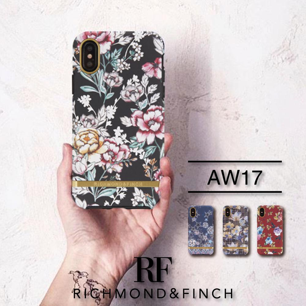 【日本総代理店】17秋冬 新作 iPhoneX ケース RICHMOND&FINCH R&F リッチモンド アンド フィンチ