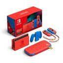 【新品】Nintendo Switch マリオレッド×ブルー セット