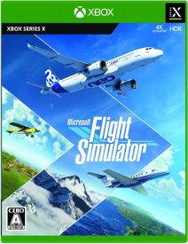 【新品未開封】 Microsoft Flight Simulator/XSX/8J6-00010/Xbox※レターパック全国送料無料