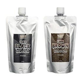 ANCELS エンシェールズ すぐとれシリーズ すぐとれ黒 すぐとれ茶 FAKE フェイクブラック フェイクブラウン カラーバター カラートリートメント 300g 送料無料【メール便】