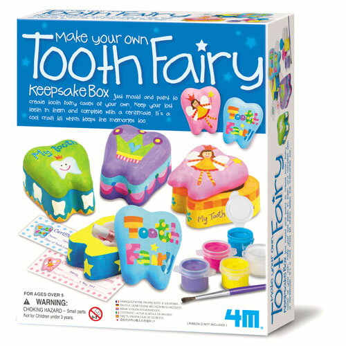 4M 乳歯ボックス クラフト・工作 お誕生日 5歳:男 お誕生日 5歳:女 【節句 入園 卒園 入学】【P】