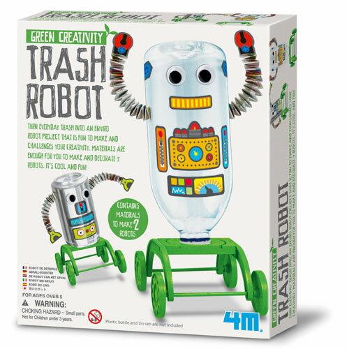 4M トラッシュロボット クラフト・工作 お誕生日 5歳:男 お誕生日 5歳:女【節句 入園 卒園 入学】【P】