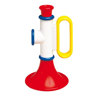 It is Ann bitoy (ambitoys) trumpet BorneLund (ボーネルンド)
